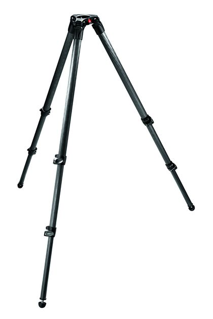 Manfrotto 535 stativ VIDEO karbonový