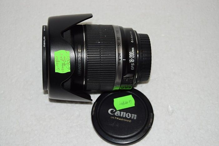 K 11811 CANON ZOOM LENS EF-S 18-200 / 3,5-5,6 IS