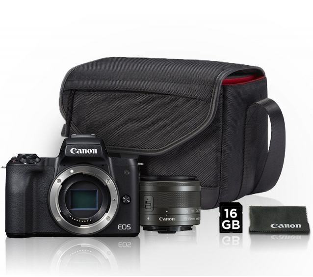 Canon EOS M50 + 15-45mm Value Up Kit