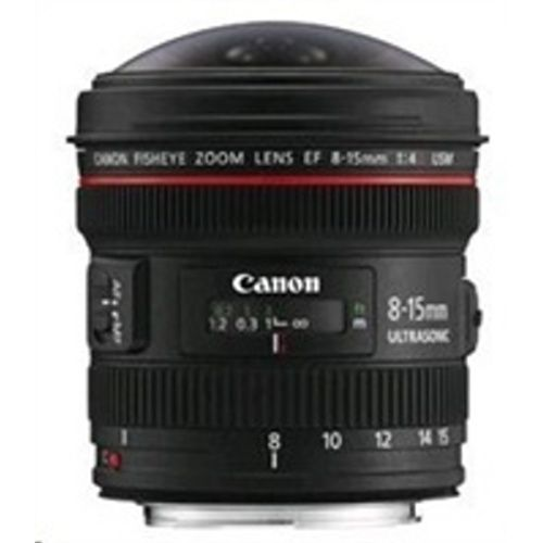 CANON EF 8-15mm f/4L USM FISHEYE