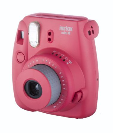 Fujifilm INSTAX MINI 8S INSTANT CAMERA raspberry
