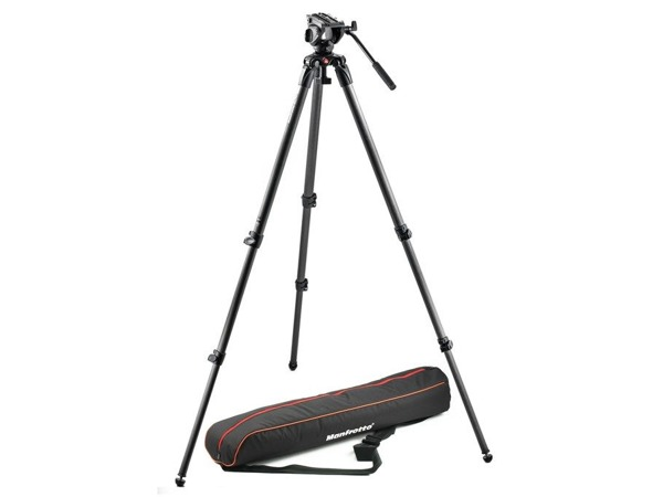 Manfrotto MVK500C, SET karbonový video stativ 535 a video hlava serie 500