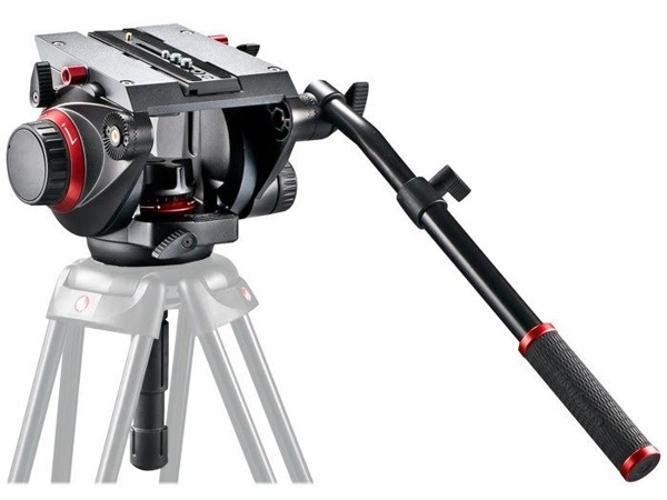 Manfrotto 509 Fluid Video Head with 100mm half ball