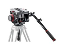 Manfrotto 509 Fluid Video Head with 100mm half ball - obrázek