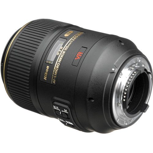 Nikon 105mm f/2,8G AF-S Micro IF-ED VR