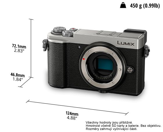 Panasonic Lumix DC-GX9 + 12-60mm