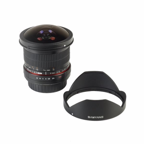 Samyang 8mm f/3,5 UMC Fish-Eye CS II (Canon)