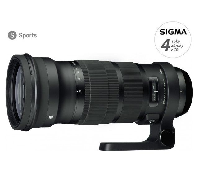 Sigma 120-300 mm f/2.8 DG OS HSM Sports pro Nikon