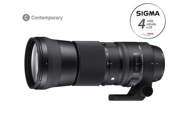 Sigma 150-600mm f/5,0-6,3 DG OS HSM Contemporary Nikon