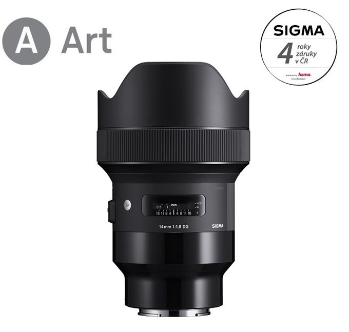 Sigma 14mm f/1,8 DG HSM ART Sony E