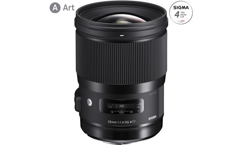 Sigma 28mm f/1,4 DG HSM Art Canon